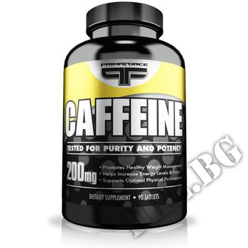 Съдържание » Дозировка » Прием » Как се пие » Primaforce caffeine 90 tabs. » Primaforce » Кофеин