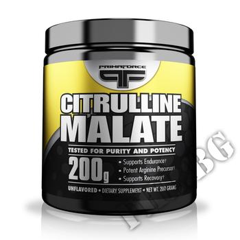 Съдържание » Дозировка » Прием » Как се пие » PrimaForce citrulline Malate » Primaforce » Цитрулин малат