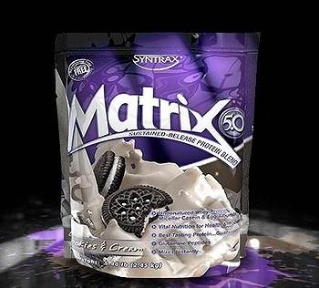 Съдържание » Дозировка » Прием » Как се пие » Matrix 5.0 - Cookies & Cream » Syntrax » Протеинова матрица