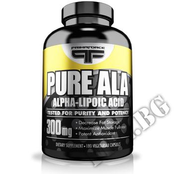 Съдържание » Дозировка » Прием » Как се пие » Primaforce pure ala 180caps. » Primaforce » Алфа липоева киселина