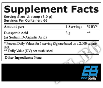 Съдържание » Дозировка » Прием » Как се пие » EverBuild d-aspartic acid 200g » EverBuild » D-аспарагинова киселина