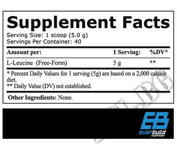 Съдържание » Дозировка » Прием » Как се пие » EverBuild Leucine 5000 » EverBuild » Есенциални аминокиселини