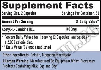 Съдържание » Дозировка » Прием » Как се пие » Acetyl L-Carnitine HL » Haya labs » Ацетил L-карнитин (ALC)
