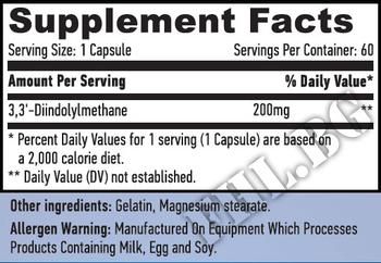 Съдържание » Дозировка » Прием » Как се пие » DIM 60 Caps » Haya labs » Естроген блокери