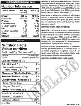 Съдържание » Дозировка » Прием » Как се пие » Mutant-pro-100 4 lbs » Mutant » Суроватъчен протеин