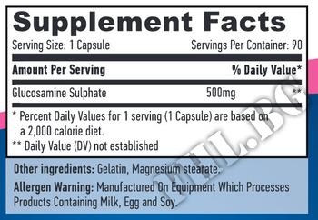 Съдържание » Дозировка » Прием » Как се пие » Глюкозамин Сулфат » Haya labs » Стави и сухожилия