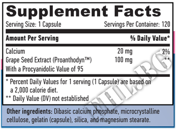 Съдържание » Дозировка » Прием » Как се пие » Екстракт от гроздово семе » Haya labs » Антиоксиданти