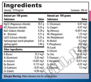 Съдържание » Дозировка » Прием » Как се пие »  Magnesium Gel 200ml » Haya labs » Магнезий