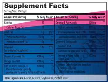 Съдържание » Дозировка » Прием » Как се пие » Omega 3-6-9 90 Softgels » Haya labs » Мастни киселини