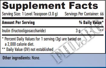 Съдържание » Дозировка » Прием » Как се пие » Prebiotic Inulin 200g  » Haya labs » Фибри