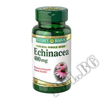 Съдържание » Дозировка » Прием » Как се пие »  Echinacea NB » Nature's Bounty » Ехинацея