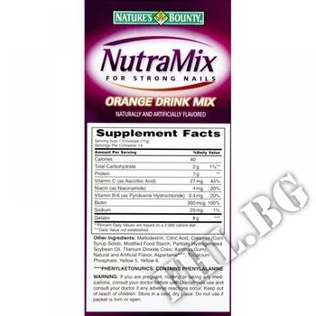Съдържание » Дозировка » Прием » Как се пие » Nutramix » Nature's Bounty » Коса-Кожа-Нокти