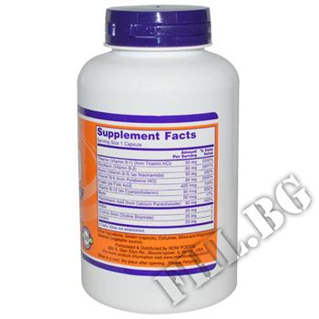 Съдържание » Дозировка » Прием » Как се пие »  Vitamin B-50 250 tabl » Now Foods » Витамин B-Complex
