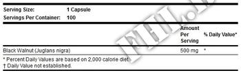 Съдържание » Дозировка » Прием » Как се пие » Black Walnut Hulls » Now Foods » Храносмилане ензими и пробиотици