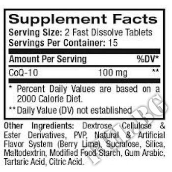 Съдържание » Дозировка » Прием » Как се пие » CoQ10 100 мг - 30 капсули » Now Foods » Коензим Q10