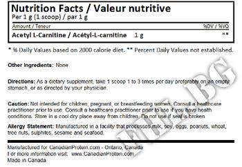 Съдържание » Дозировка » Прием » Как се пие » Acetyl L-Carnitine 250гр » MyProtein » Ацетил L-карнитин (ALC)