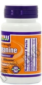 Съдържание » Дозировка » Прием » Как се пие » L-Theanine 200 mg  » Now Foods » Нервна Система