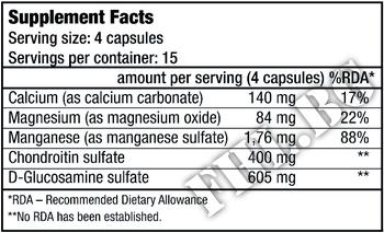 Съдържание » Дозировка » Прием » Как се пие » Chondroitin Glucosamine 60 caps » BioTech USA » Стави и сухожилия