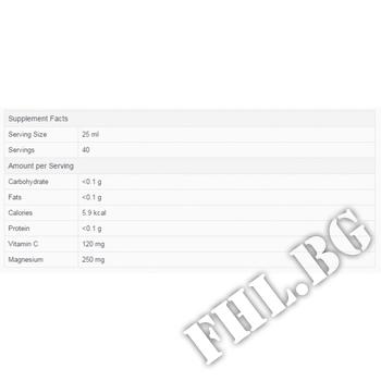 Съдържание » Дозировка » Прием » Как се пие »  MAGNESIUM LIQUID + VIT C  » Pure Nutrition » Магнезий