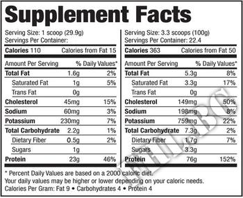 Съдържание » Дозировка » Прием » Как се пие » 100% Pure Whey Platinum 10 lbs » SAN » Суроватъчен протеин