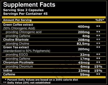 Съдържание » Дозировка » Прием » Как се пие » Green Coffee Complex 90 capsules » Scitec » Зелено кафе