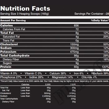 Съдържание » Дозировка » Прием » Как се пие » ANIMAL MASS 10,19 lbs » Universal Nutrition » Гейнъри