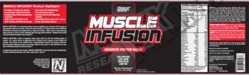 Съдържание » Дозировка » Прием » Как се пие »  Muscle Infusion Black Nutrex 5 lb  » Nutrex » Протеинова матрица