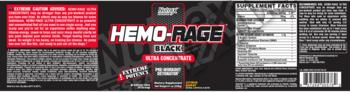 Съдържание » Дозировка » Прием » Как се пие » Hemo-Rage black Ultra concentrate » Nutrex » Топ 10 Азотни бустери