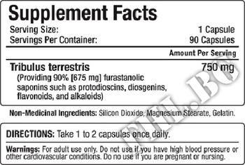 Съдържание » Дозировка » Прием » Как се пие »  TribX 750 mg 90 caps » Allmax Nutrition » Трибулус Терестрис