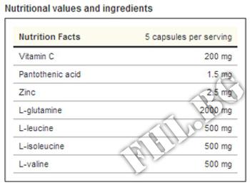 Съдържание » Дозировка » Прием » Как се пие » Total Recovery caps      » Weider » Аминокиселини