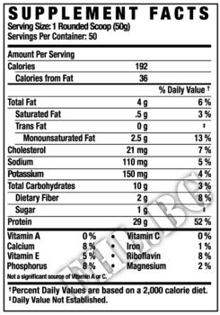 Съдържание » Дозировка » Прием » Как се пие »  Pro Antium 5.6 lbs  » Ronnie coleman » Протеинова матрица