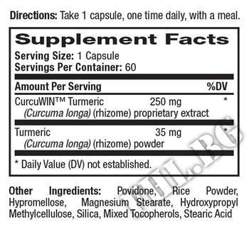 Съдържание » Дозировка » Прием » Как се пие » Turmeric Extra Strength » Natrol » Антиоксиданти