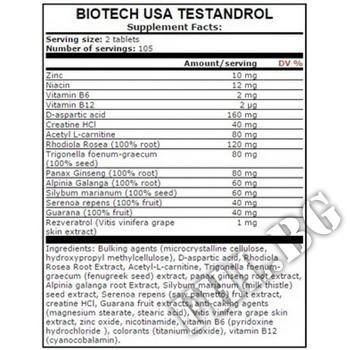 Съдържание » Дозировка » Прием » Как се пие » Testandrol 210 Tabs. » BioTech USA » Формули за мъже