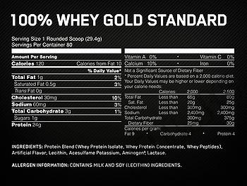 Съдържание » Дозировка » Прием » Как се пие »  100 whey gold standard 5lb-крем бисквитка » Optimum Nutrition » Суроватъчен протеин