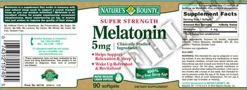 Съдържание » Дозировка » Прием » Как се пие » Melatonin 5 mg NB » Nature's Bounty » Здрав сън