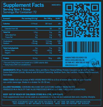 Съдържание » Дозировка » Прием » Как се пие » Flex Wheeler's Pro Line Hydro Whey » Mex Nutrition »   Суроватъчен изолат