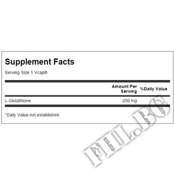 Съдържание » Дозировка » Прием » Как се пие »  L-Glutathione 250mg/Глутатион » Now Foods » Черен Дроб