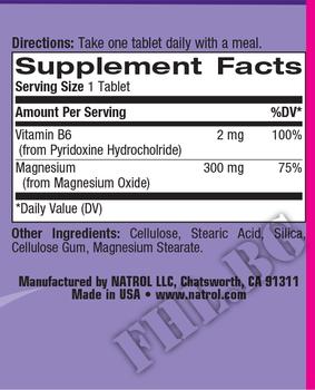 Съдържание » Дозировка » Прием » Как се пие » MagniFlex 60 tab » Natrol » Мултивитамини