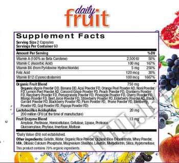 Съдържание » Дозировка » Прием » Как се пие » JuiceFestiv Daily Fruit  » Natrol » Здраве и Тонус