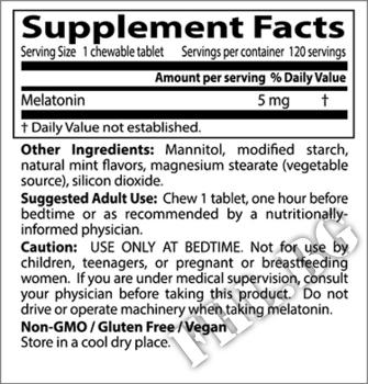 Съдържание » Дозировка » Прием » Как се пие »  Melatonin Natural Mint Flavor » DOCTOR'S BEST » Здрав сън