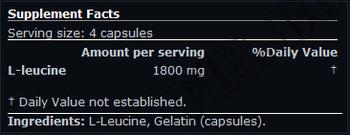 Съдържание » Дозировка » Прием » Как се пие » Leucine 100 Caps. » Scitec » Аминокиселини