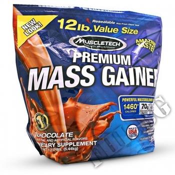 Съдържание » Дозировка » Прием » Как се пие »  100% Premium Mass Gainer-шоколад » MuscleTech » Топ 10 Гейнъри