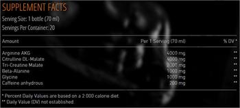 Съдържание » Дозировка » Прием » Как се пие » 2Go Pump » Mex Nutrition » Азотни бустери