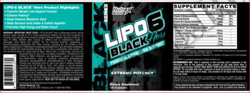 Съдържание » Дозировка » Прием » Как се пие »  LIPO-6 Black Hers » Nutrex » Термогенни фетбърнъри