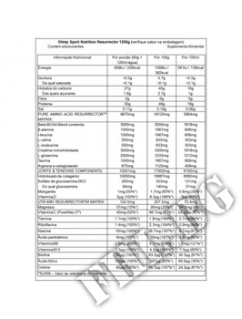 Съдържание » Дозировка » Прием » Как се пие » Resurrector 1200 gr » Olimp » Аминокиселини