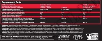 Съдържание » Дозировка » Прием » Как се пие » L-Carnitine 1500 Extreme Mega Caps » Olimp » Л-карнитин