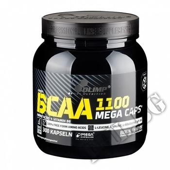 Съдържание » Дозировка » Прием » Как се пие » BCAA Mega Caps 1100mg. / 300 Caps. » Olimp » BCAA