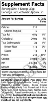 Съдържание » Дозировка » Прием » Как се пие »  NITRO-TECH Casein Gold 5lbs » MuscleTech » Казеин