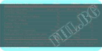 Съдържание » Дозировка » Прием » Как се пие »  L-CARNITINE 3000мг + GUARANA & GREEN TEA » Fit and Shape » Течен Л карнитин