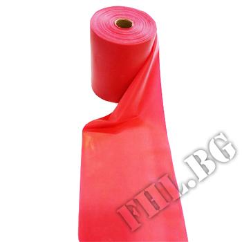 Съдържание » Дозировка » Прием » Как се пие » Ластик широк на метър червен 12 см. » MSD Band » Фитнес ластици
